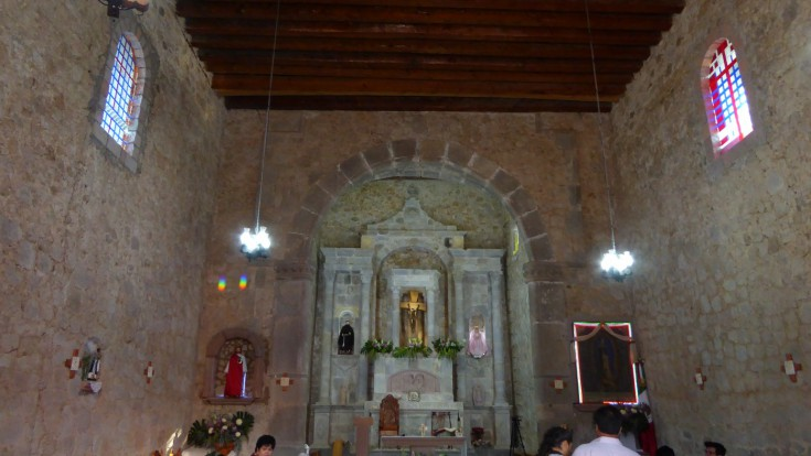 San Panchito, a church illuminated every spring equinox